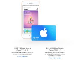 iTunesカードをクレジットカードで購入する方法